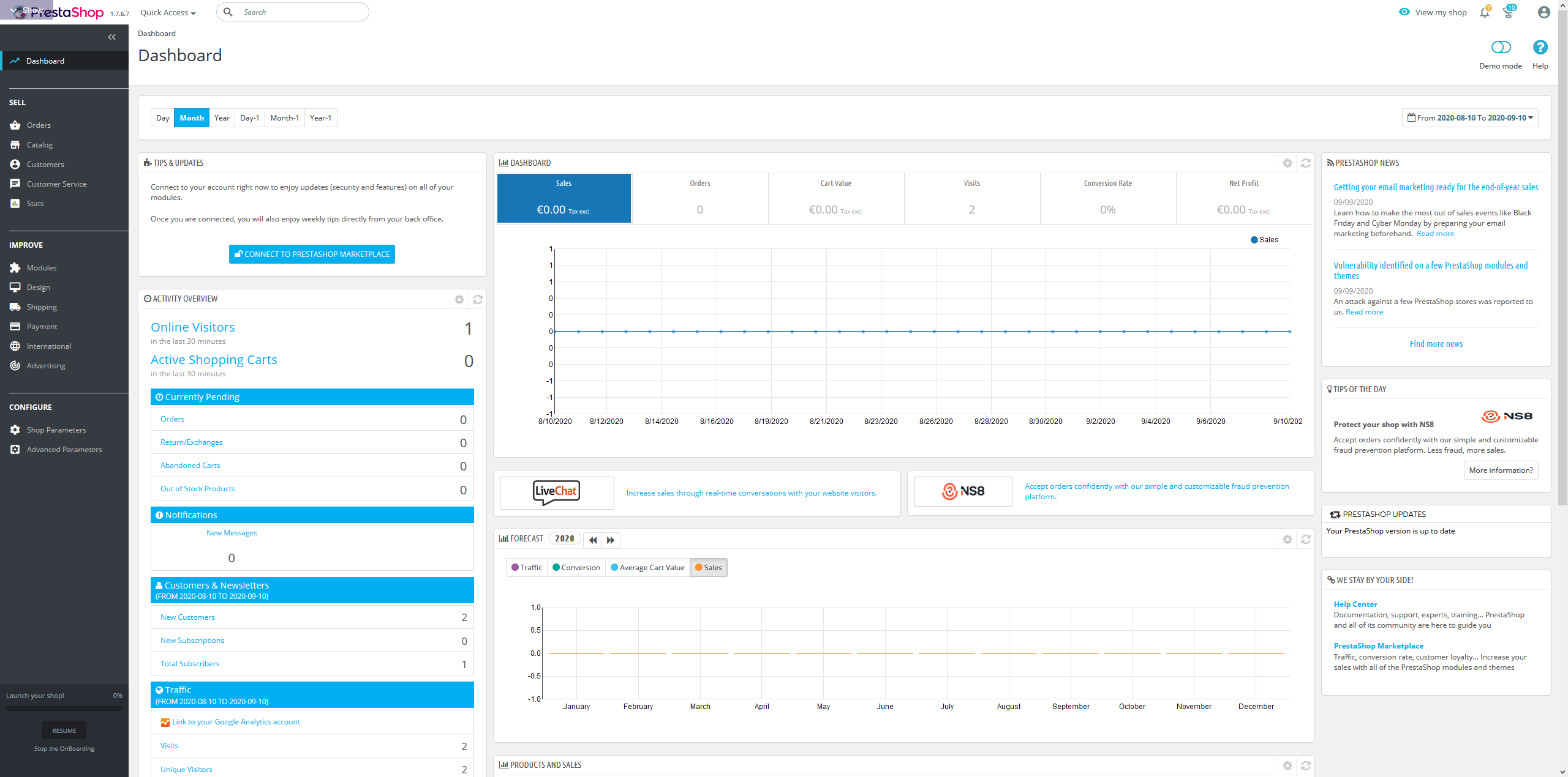 Screenshot_2020-09-10 PrestaShop Live Demo